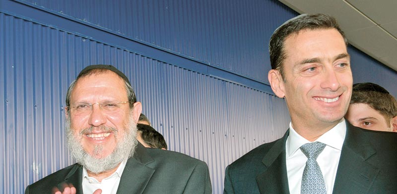 Matthew Bronfman, Shalom Fisher Photo Mark Salem