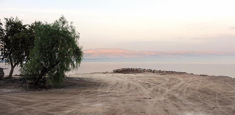 השטח בו נעשו עבודות הפיתוח להקמת המלון / צילום: חגי אהרון
