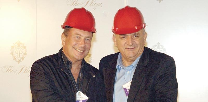 """יצחק תשובה (מימין) ונוחי דנקנר. הובילו הסדרי ענק בדלק נדל""""ן ובאי.די.בי / צילום: יח""""צ"""