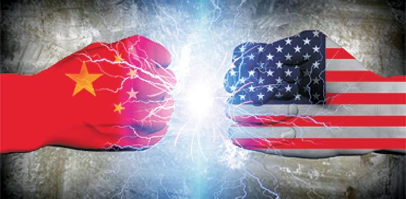 """ארה""""ב וסין / איור: shutterstock"""