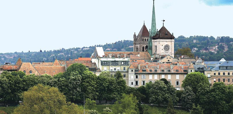 שווייץ. ידועה בחדשנות, באיכות מוצרים ובדיוק / צילום: רויטרס