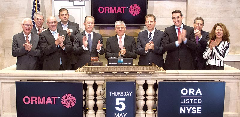 Ormat photo: NYSE