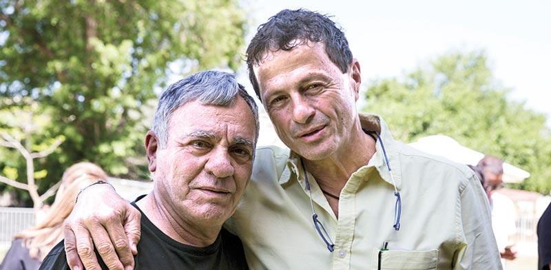 אודי אנג'ל וגברי בנאי / צילום: גאיה סעדון