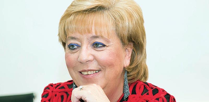 ראשת עיריית נתניה, מרים פיירברג. תיק החקירה נגדה נסגר / צילום: שלומי יוסף