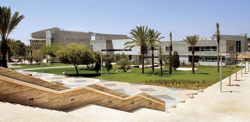 Ben Gurion University Photo: Eyal Yitzhar