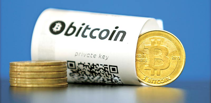 Bitcoin Photo: Reuters