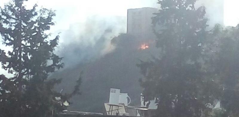 שריפה חיפה שכונת ורדיה/ הצלם: רוני פפו