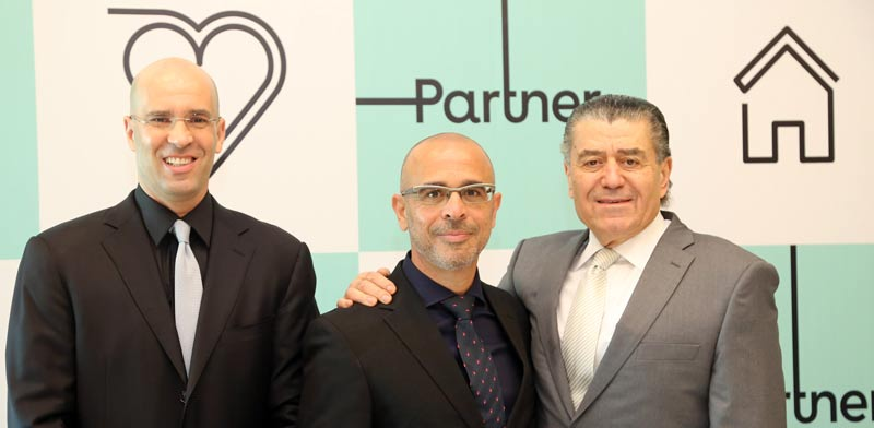 Haim Saban (right) Photo: Sivan Faraj