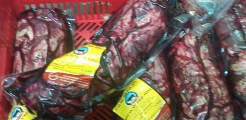"""בשר מקולקל במסעדות יוקרה / צילום: משרד החקלאות יחידת הפיצו""""ח"""