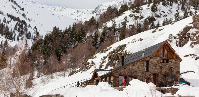 שלג באתר הסקי בעיירה Tavascan (Salard?)  / צילום: Marc Gasch