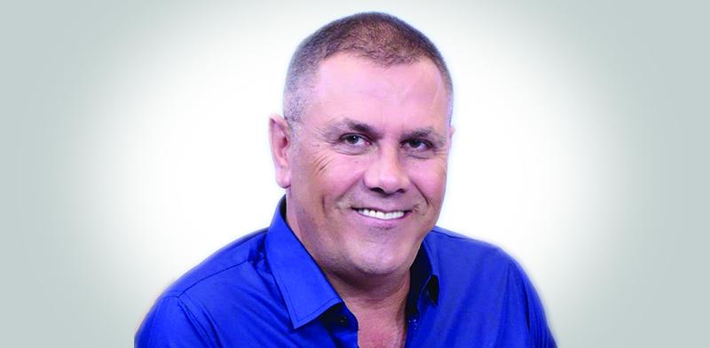"""גיא בלושינסקי, מייסד ומנכ""""ל G-Group / צילום : בני בכר"""