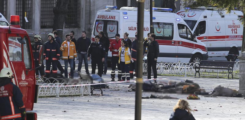 פיגוע באיסטנבול / צילום: רויטרס