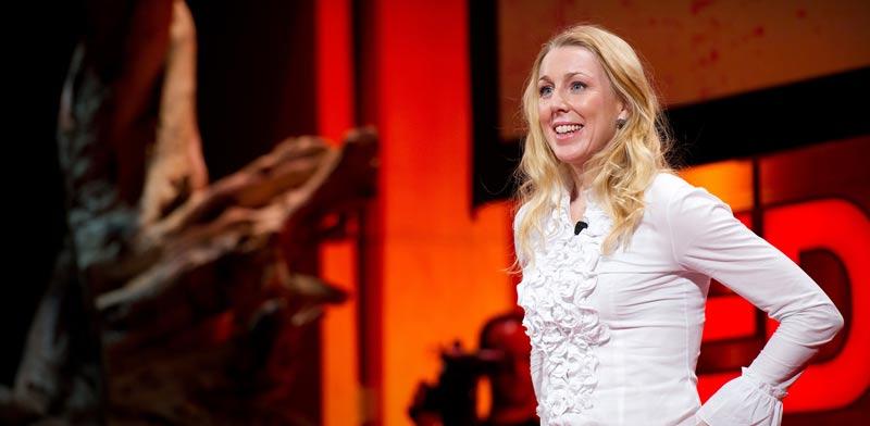 קרוליין קייסי /צילום מסך מתוך TED