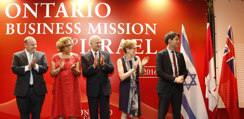 Ontario business delegation Photo: Cacoilo Sonia