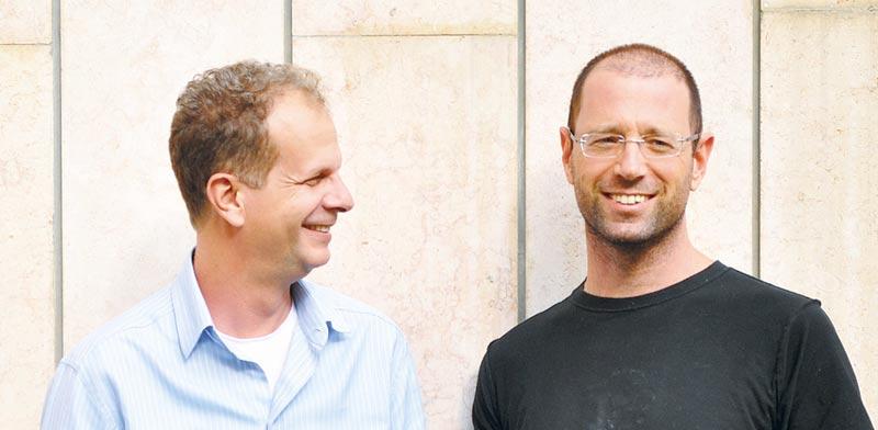 אלגרסי (משמאל) וגרינלינגר / צילום: באדיבות Firelayers