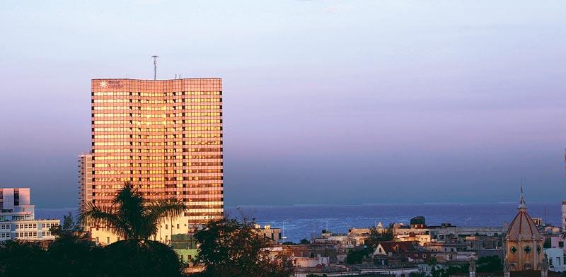 מלון Melia בהוואנה. החברה תיהנה מפריחת התיירות בקובה.  צילום: רויטרס