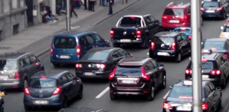 אזור המטרו בבריסל אחרי הפיצוץ /צילום מסך טוויטר