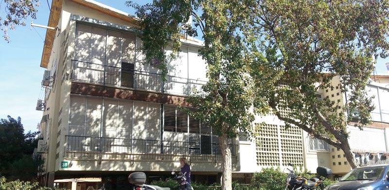 הבניין ברח' ריינס / צילום: תמר מצפי