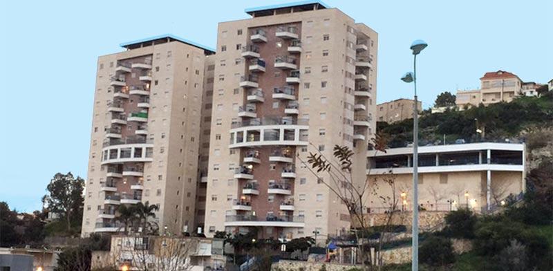 """בנייני המריבה בחיפה / צילום: יח""""צ"""