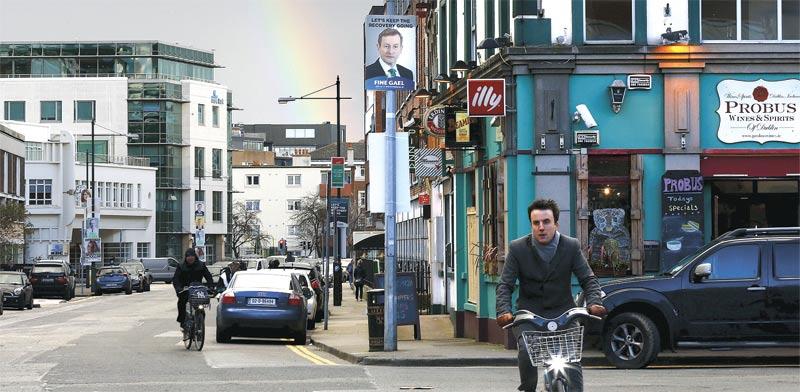 דבלין. היחידה שצפויה להניב עלייה דו–ספרתית במחירי השכירות המסחריים / צילום: רויטרס
