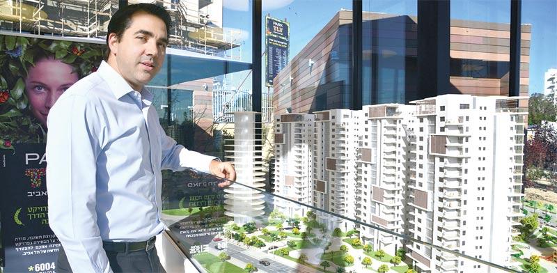 """רונן יפו, מנכ""""ל אלעד מגורים / צילום: תמר מצפי"""
