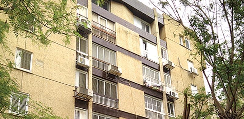 """, ברחוב דב גרונר, בת""""א, רמת אביב ג' / צילום: יח""""צ"""