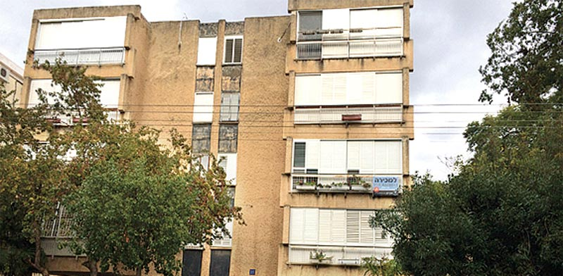 """דירת 4 חדרים, רחוב קהילת פאדובה, תל אביב / צילום: יח""""צ"""