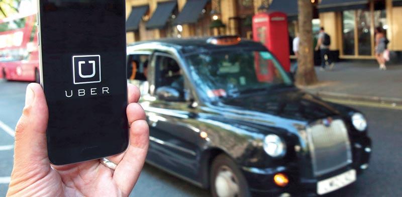 מונית אובר בלונדון / צילום: רויטרס