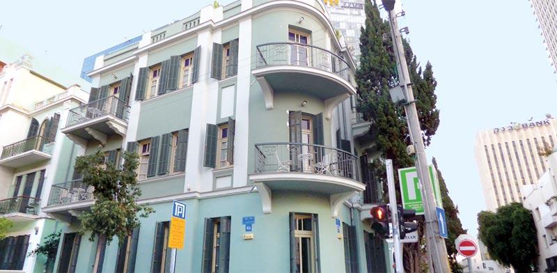 """מלון עלמה בת""""א / צילום:  אמיר מאירי"""