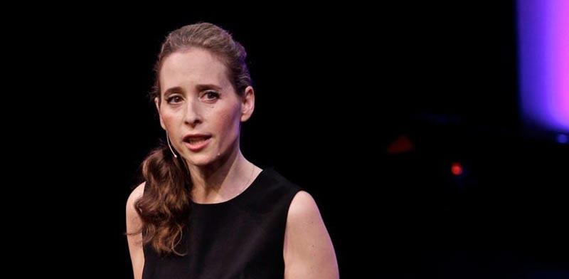 נורינה הרץ /צילום מסך מתוך TED