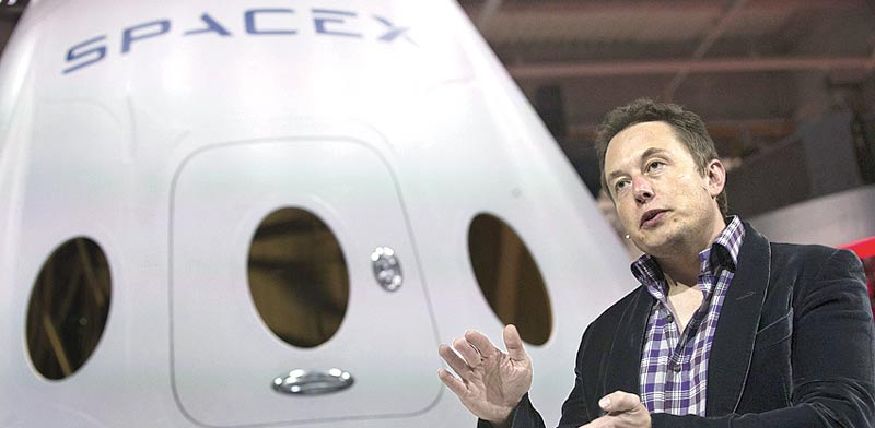 Elon Musk SpaceX Photo: Bloomberg