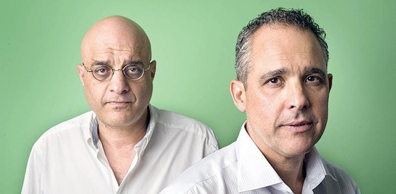 האחים דורי ושאול נאוי / צילום: יונתן בלום