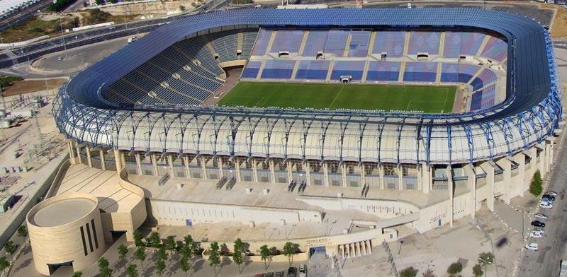 פרויקט סולארי ראשון באצטדיון כדורגל/ קרדיט: פ. ברוייד אדריכל, גולדשמידט ארדיטי בן נעים אדריכלים