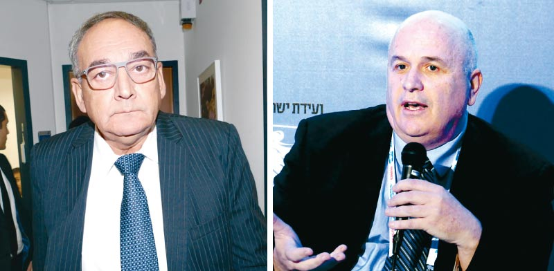 פרופ' ארי שמיס ופרופ' זאב רוטשטיין / צילום: אוריה תדמור