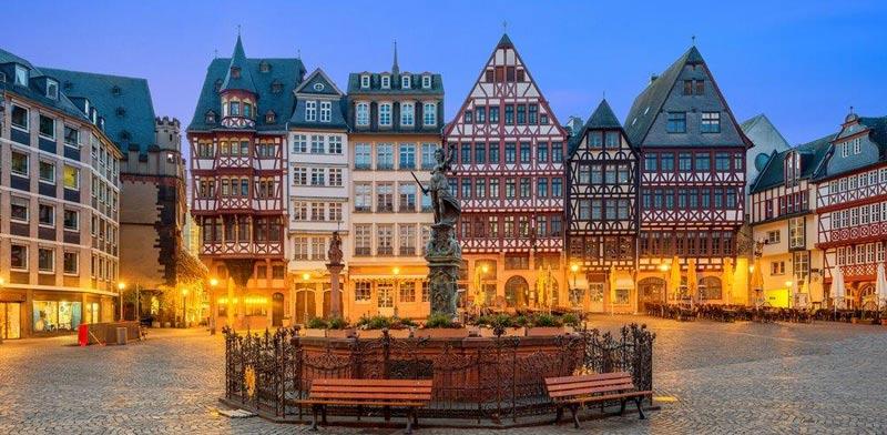 הרובע ההיסטורי של פרנקפורט/ צילום:  Shutterstock/ א.ס.א.פ קרייטיב