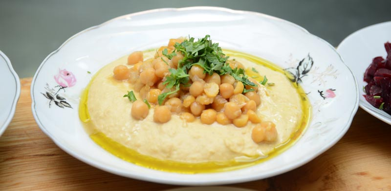 Hummus Photo: Eyal Izhar