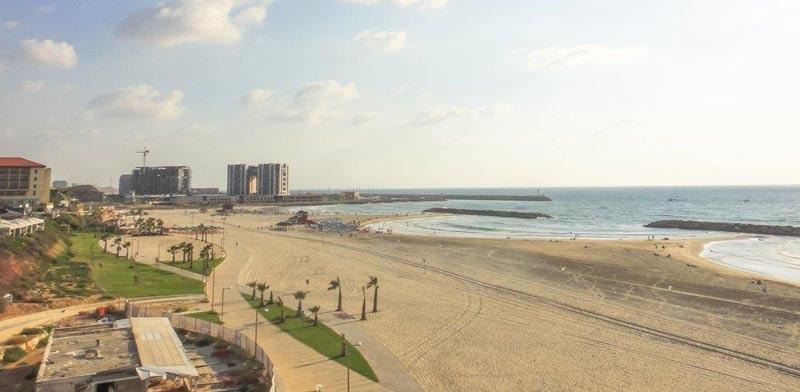 Herzliya beach Photo: Shutterstock ASAP Creative