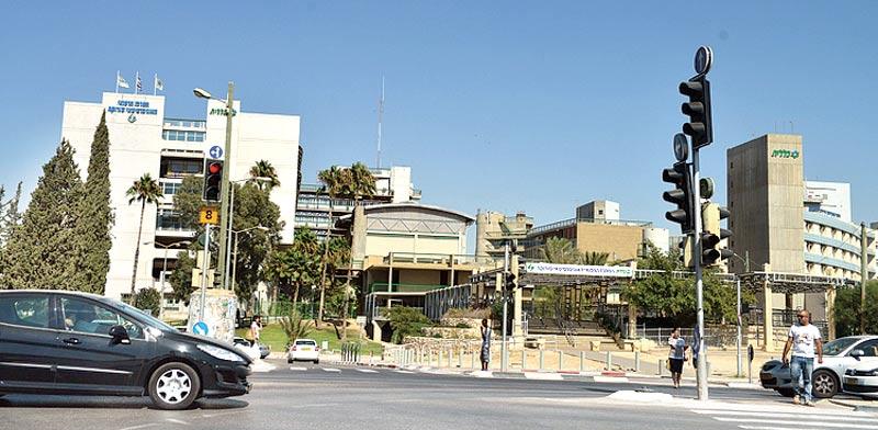 בית חולים סורוקה. היחיד שמשרת את תושבי הנגב / צילום: תמר מצפי