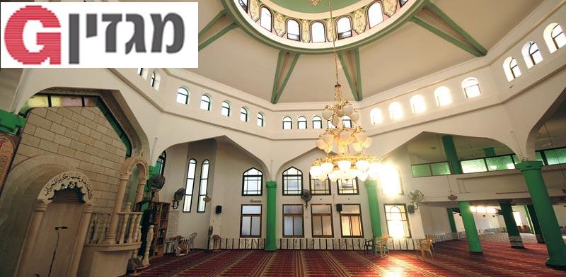 פנים מסגד / צילום: יותם יעקבסון