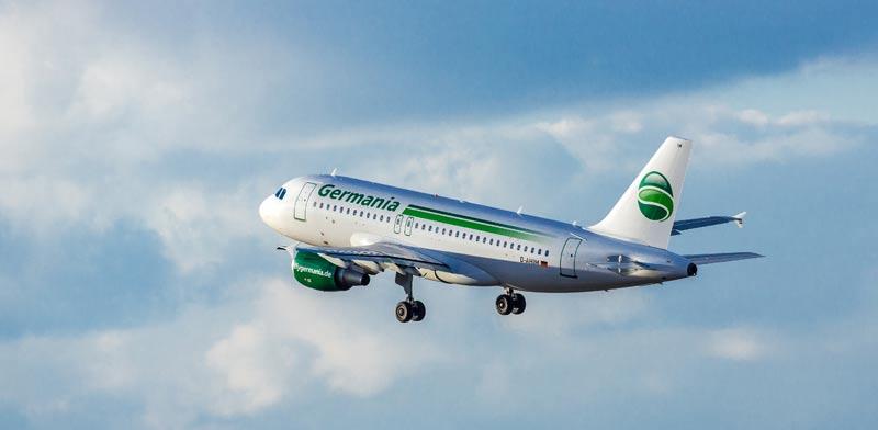 איירבוס A319, מטוס של גרמניה איירליינס / צילום: קרסטן קיסלינג
