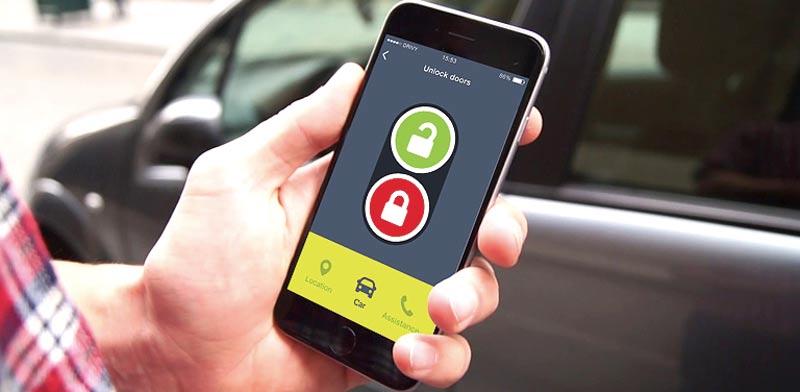 מנגנון פתיחת המכונית של drivy / צילום: מתוך יוטיוב