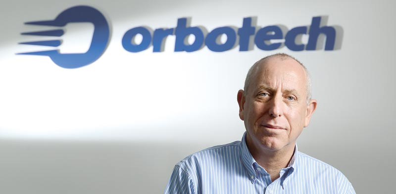 Orbotech CEO Asher Levi, photo: Eyal Yitzhar