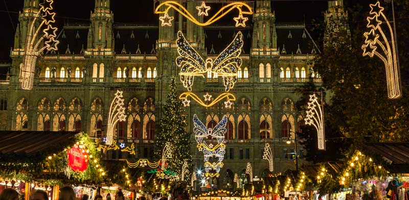 חג המולד בוינה / צילום:  Shutterstock/ א.ס.א.פ קרייטיב