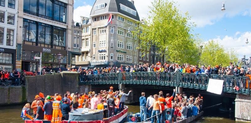 יום המלך באמסטרדם / צילום:  Shutterstock א.ס.א.פ קרייטיב