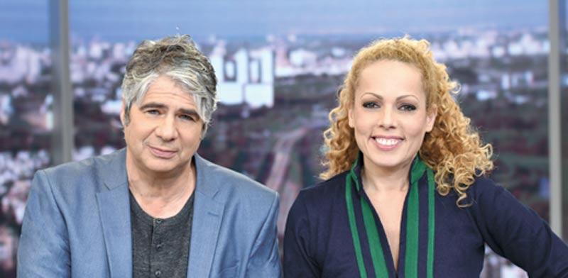 אורלי וגיא / צילום: ערוץ 10