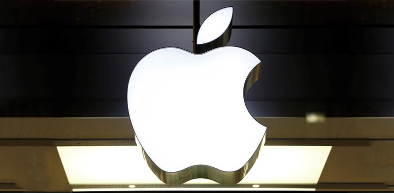 Apple logo  photo: Reuters