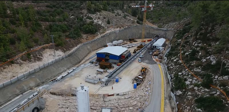 צפו: המנהרה הארוכה בעולם שתוביל מים לירושלים