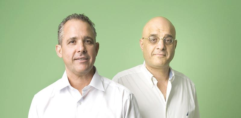 האחים שאול ודורי נאוי / צילום: יונתן בלום