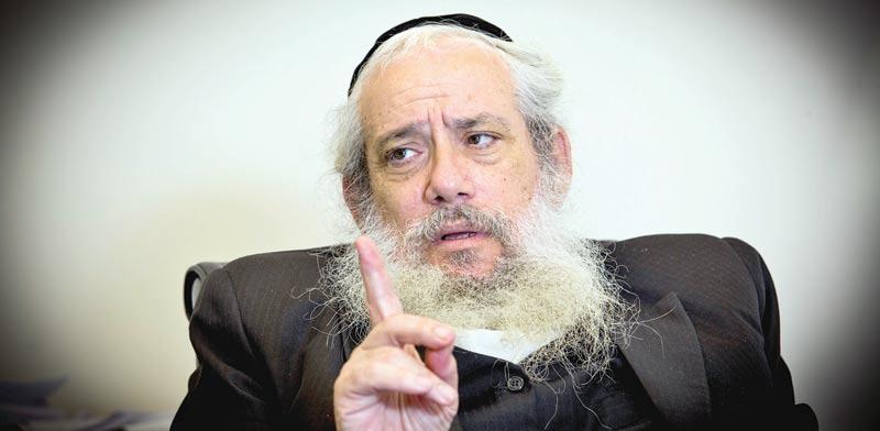 הרב חנוך זייברט / צילום: שלומי יוסף