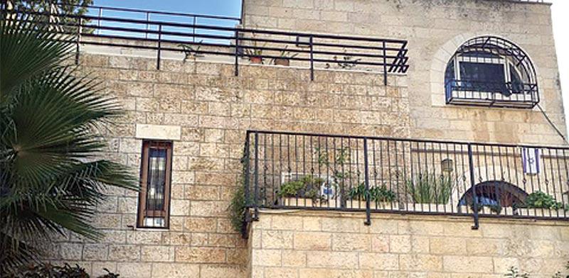 """בירושלים, ברחוב אלפסי בשכונת רחביה / צילום: יח""""צ"""